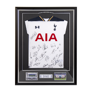 Spurs 2016/2017 Framed Signed Shirt