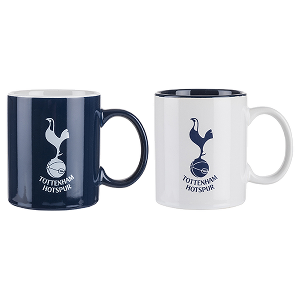 Spurs Twin Contrast Mug Set
