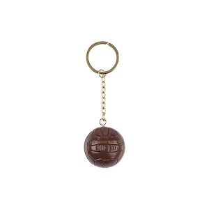 Spurs Retro Football Keyring