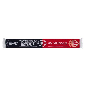 Spurs vs Monaco CL Friendship Scarf