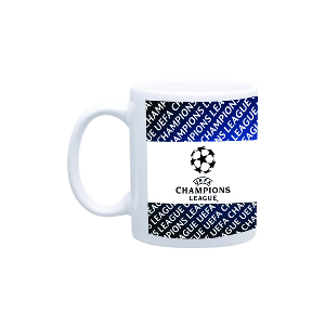 Spurs Champions League Logo Mug