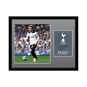 2016/2017 Christian Eriksen Signed Picture