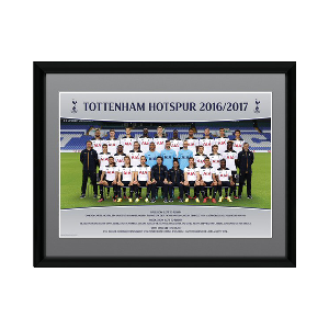 Spurs 2016/2017 Team Framed Picture