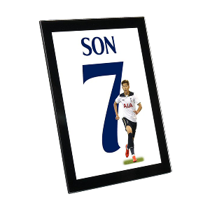 Spurs Son Glass Framed Print