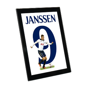 Spurs Vincent Janssen Glass Framed Print