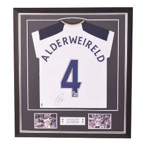 Spurs 2016/2017 Alderweireld Framed Signed Shirt