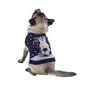 Spurs Small Dog Christmas Jumper