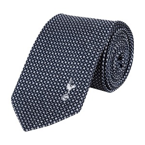Spurs Grey Circle Tie