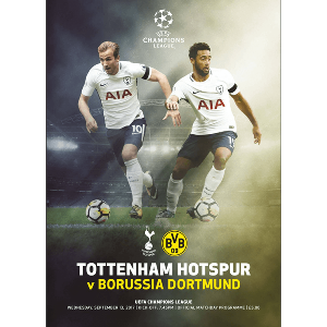 Spurs v BVB Programme Champions League