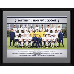 Spurs Team 2017/2018 Framed Picture