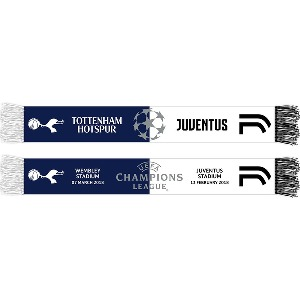 Spurs vs Juventus CL Friendship Scarf