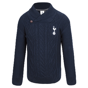 Spurs Boys Knitted Jumper