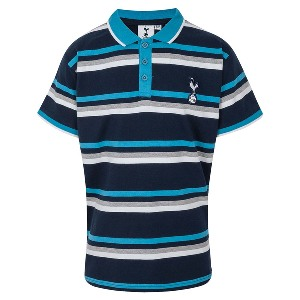 Spurs Boys Multi-Stripe Polo