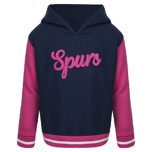 Spurs Girls Hooded Pullover
