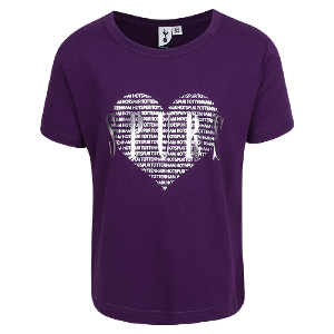 Spurs Girls Heart T-Shirt