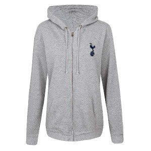Spurs Womens Zip Through Hoodie