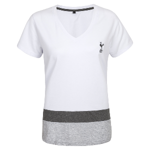 Spurs Womens Colour Block T-shirt