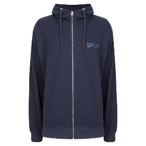 Spurs Mens Pique Hooded Top