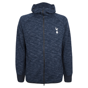 Spurs Mens High Neck Hoodie