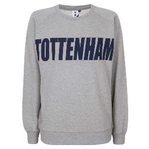 Spurs Mens Tottenham Printed Sweat Top