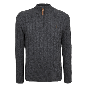 Spurs Mens Cable Knit Jumper