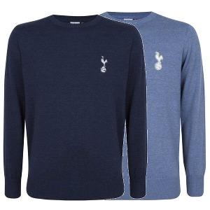 Spurs Mens Crew Knitted Jumper