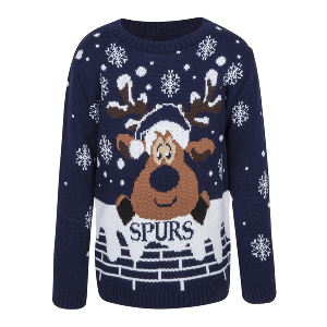 Spurs Adult Reindeer Xmas Jumper