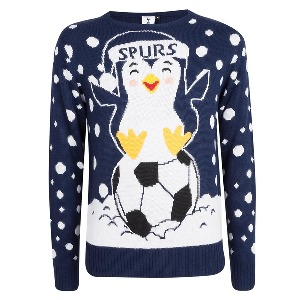 Spurs Adult Penguin Christmas Jumper