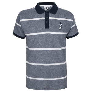 Spurs Mens Single Stripe Polo