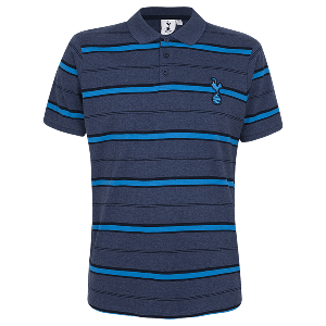 Spurs Mens Shadow Stripe Polo