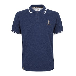 Spurs The Lane Mens Navy Classic Polo