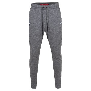 Spurs Mens Light Grey Tech Fleece Track Pant
