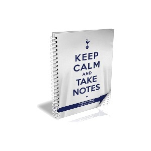 Spurs Personalised A5 Keep Calm Notebook