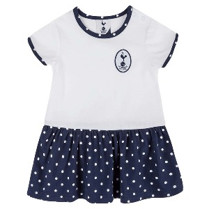 Spurs Baby Girl Printed Skirt Dress