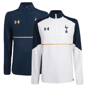 Spurs Mens Under Armour Zipper Jumper 2016/2017